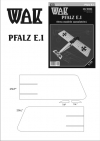 Pfalz E.I - laser cut parts