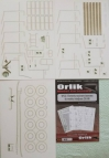 Trolleybus ZiU-9B - laser cut parts