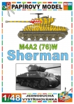 M4A2(76)W Sherman (Korean War)