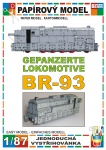Armoured locomotive BR-93