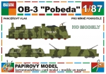 Armoured train OB-3 Pobeda