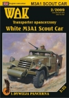 White M3A1 Scout Car