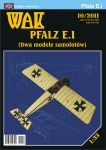 Pfalz E.I (Two models)