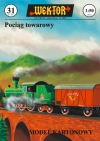Train with freight wagons