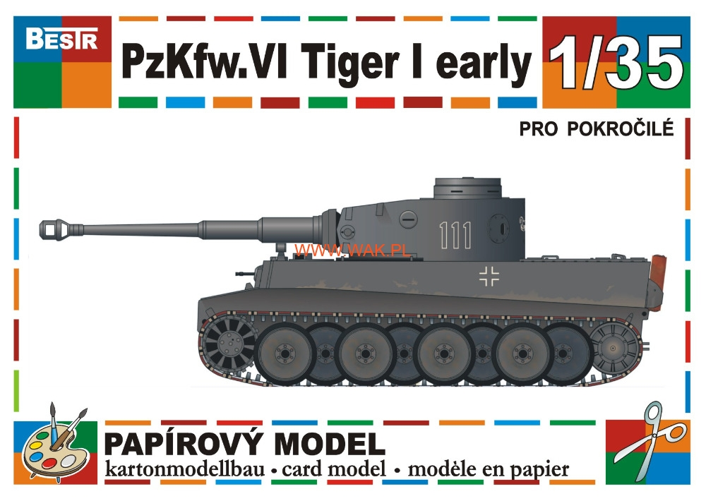 Pz Kpfw  Vi Ausf  E Tiger  Wczesny
